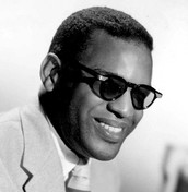 Ray Charles as a young adult