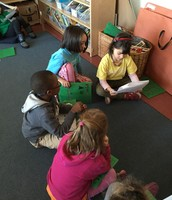 Sharing our writing in small groups
