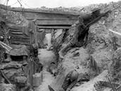 WW 1 Trench