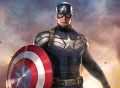 capitan America:Chris Evans
