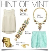 Mint for Fall Fashion