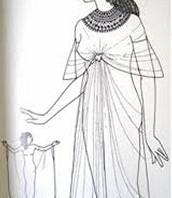 Royal dress Egypt