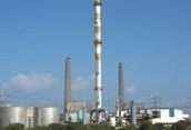 תחנת כוח שפועלת על גז
