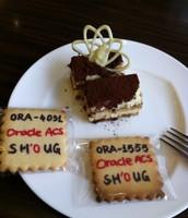 SHOUG创意饼干,这里同时遇到了ORA-4031和ORA-1555 2个顽固错误