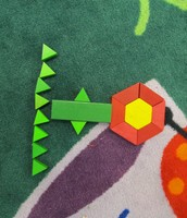 More Geometric Flowers!