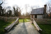 Replica of Banneker's Log Cabin Home