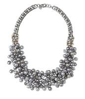 *SOLD CR*  Isadora Pearl Bib Necklace - $65