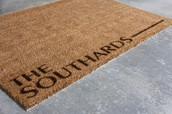 The Becks - Custom Doormat