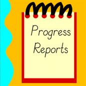 Progress Reports THURSDAY (12/10/15)