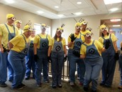 More and more minions!