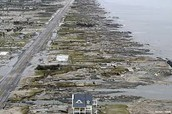 Coastal Towns Swept Away