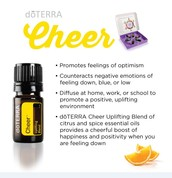 Win a bottle of our new Cheer blend!