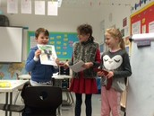Students use their own initiative to research their country and present to their classmates