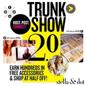 Host a Trunk show and double your rewards