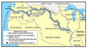 One map of the expedition