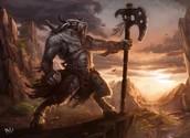The Minotaur and his descriptive description that desribes