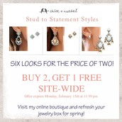 Buy 2 Get 1 Free Ends MONDAY!