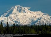 Mt. McKinley in Alaska