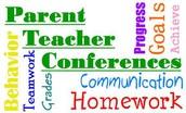 Parent/Teacher Conferences!