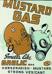 Mustard Gas was used to...