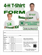 4-H T-Shirts Available To Purchase