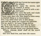 Sonnet 75 (Poem) by Edmund Spenser