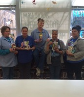 Leadership honoring our hard-working custodians!