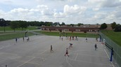 Great view of our recess