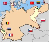 Germany after the Treaty, Germany divided