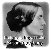 One of Susan B. Anthony's Favorite Quotes