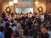 Special Music ~ Sunday, March 20th COMBINED CHOIRS