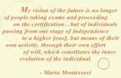 Montessori's Perspective