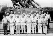 The men that were included in the code talkers