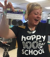 Happy 100the Day!  Love, Mrs. Mohn