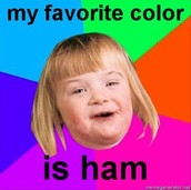 Is ham a color