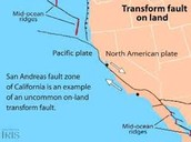 San Andreas Fault of California
