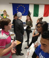 Speaking Italian during Spirit Week