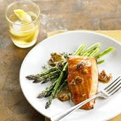 Salmon and Bourbon Glaze