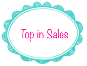 Woohoo!!  Pattie Topa was Top In Sales!! She sold $1,855.50 in her first month!! Rock Star!!