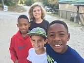 5th graders at Camp JOLT