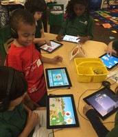 I-pad Station - Listening, Pronunciation and wirting