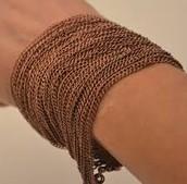 brass metal bracelet