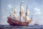Schip van Michiel de Ruyter.
