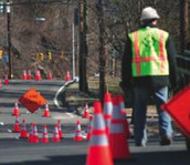 Driving risk of work zones