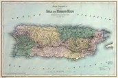 THE MAP OF PUERTO RICO.