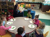 Eating green eggs and ham