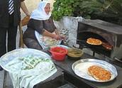 מאכלים דרוזים מסורתיים - פיתה בטאבון