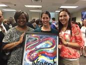 Reinhardt's Leadership DISD Fellow Receives DISD Volunteer Impact Award