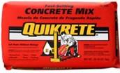 Quick Drying Concrete