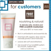 January's Free Gift w/ Purchase of $95